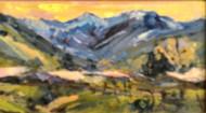 """Mountain Home"" Dawn Normali 5x10"