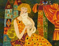 """""""Lovely Cat"""" Yelena Sidorova 24x36"""