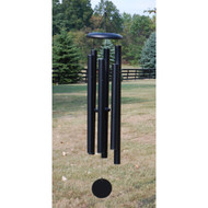 "Our most popular midsize chime, the 50"" T516 shown in Black is a proven favorite of many windchime enthusiasts. Its tones closely match the singing range of most people. Limited Colors available: Black, Copper Vein, Patina Green.   Please call the gallery for availability in sizes and colors."