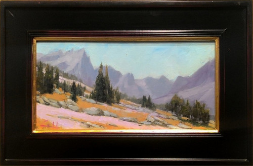 """Trek Through The Medicine Bow"" by George Coll, 8x16"