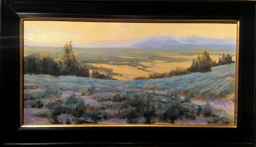 """Big Sandy, Wyoming"", George Coll, 15x30"