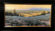 """Big Sandy, Wyoming"", George Coll, 15x30"