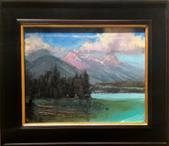 """Reflection Lake"" by George Coll, 12x16"