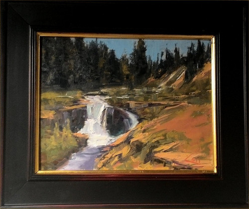 """Yankee Boy Falls"", George Coll, 11x14"