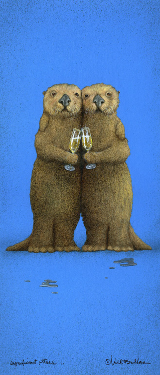 """""""Significant Otters"""" by Will Bullas"""