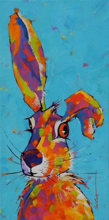 """One Eye Jack"" by Coni Grant, 16x8"