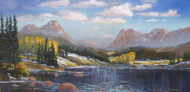 """Introducing Winter"" by Heather Coen 12x24"