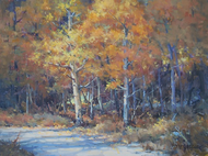 """Autumn Trail, RMNP"" by Margaret Jensen 12x16"