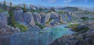 """Desolation Lake"" by Heather Coen 20x32"