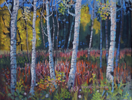 """""""Fireweed"""" by Heather Coen 11x14"""