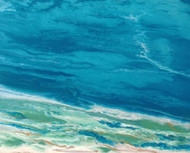 """Emerald Waters II"" by Kimberly Conrad 24x30"