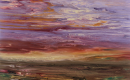 """Reflections on the Plains VI"" by Kimberly Conrad 28x45"