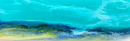 """Caribbean Waters"" by Kimberly Conrad 12x36"
