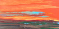 """Blazing Sky Reflected VII"" by Kimberly Conrad 18x36"