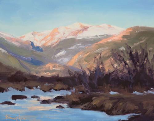 """Morning Glory"" by Terri Sanchez 11x14"