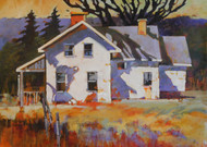 """That Old House"" by Coni Grant, 22x30"