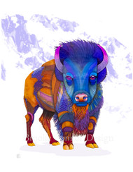 """American Bison"" by Brooke Connor"