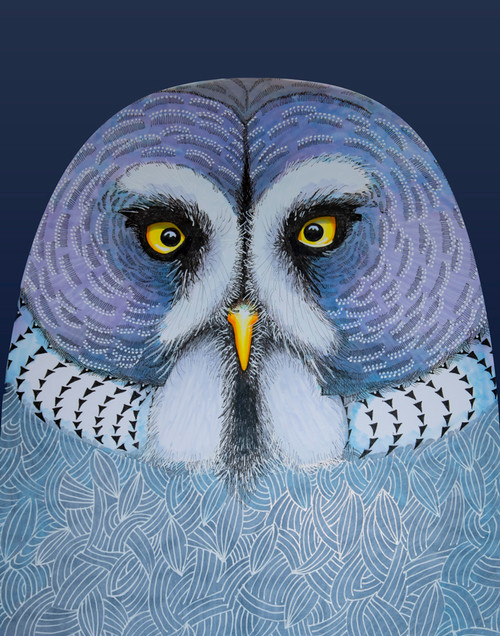 """Great Grey Owl"" by Brooke Connor"