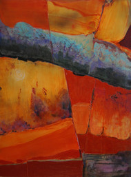 """Canyon Patina II"" by Connie Slack, 24x18"
