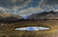 """Ute Trail, RMNP"" by Lyse Dzija 20x32"