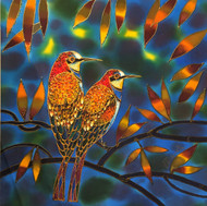"""Two Birds"" Yelena Sidorova 20x20"