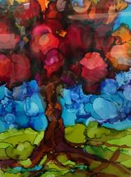 """Old Soul"" by Dawn Reinfeld 20x16"