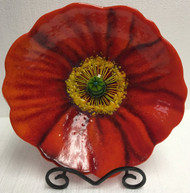 """Red Poppy Bowl"" by Anne Nye"