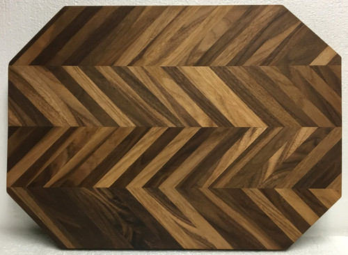 Chevron Cutting/Serving Board by Jamie Doubleday