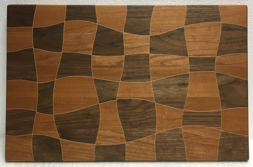 Psychedelic Cutting Board by Jamie Doubleday