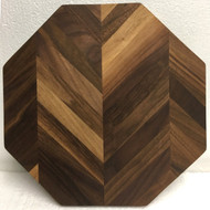 Octagonal Chevron Cutting Board by Jamie Doubleday