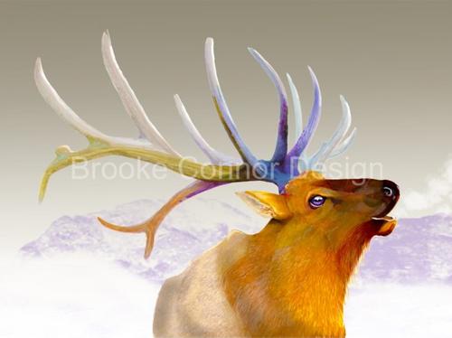 """Bull Elk Singing"" by Brooke Connor"