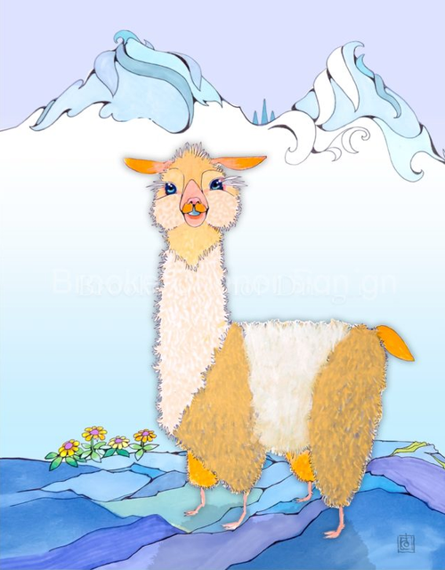 """Alpaca Cutie Pie"" by Brooke Connor"