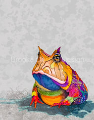 """""""Horn Frog"""" by Brooke Connor"""