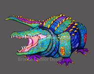 """""""Laughing Alligator"""" by Brooke Connor"""