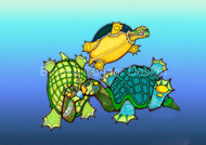 """Three Turtles"" by Brooke Connor"