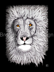 """Lovely Lion"" by Brooke Connor"