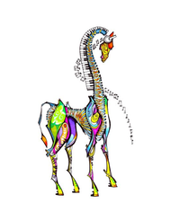 """iGiraffe"" by Brooke Connor"