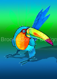"""Toucan"" by Brooke Connor"