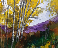 """""""Aspen Grove"""" by Vicky Russell, 8""""x10"""""""