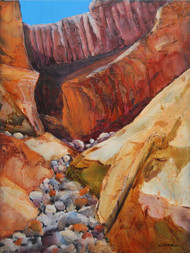 """Canyon Secrets"" by Connie Slack, 24x18"