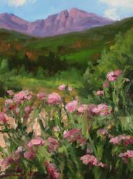 """Wildflower Bouquet"" by Terri Sanchez 9x12"