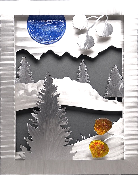 """Mountains"" by Sondra Gerber"