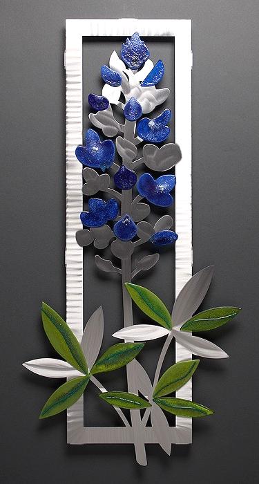 """Delphinium"" by Sondra Gerber"