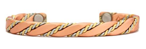 """Caduceus (Brushed)"" bracelet by Sergio Lub"