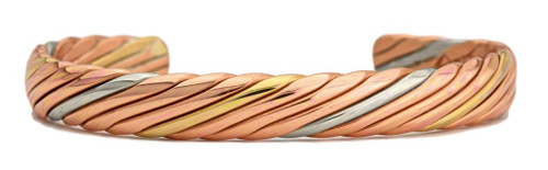 """Copper Sailor"" bracelet by Sergio Lub"