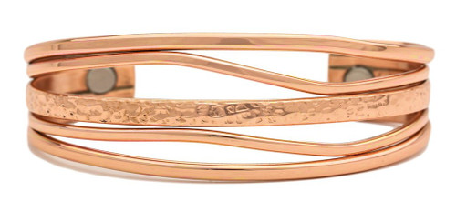 """Copper Tide"" bracelet by Sergio Lub"