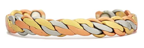 """Viking (Brushed)"" bracelet by Sergio Lub"
