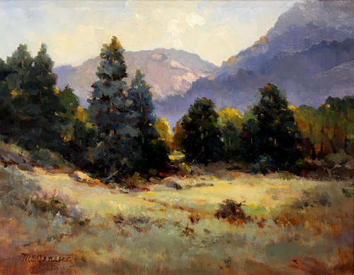 """A New Day, Rocky Mountain National Park"" by Margaret Jensen 11x14"