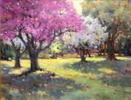 """Blossom Time"" by Margaret Jensen 14x18"