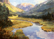 """Above Grand Lake"" by Margaret Jensen 12x16"